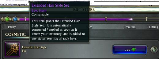 e1e6d Rift Scene Hairstylebundle RIFT 2.4: Beyond Infinity