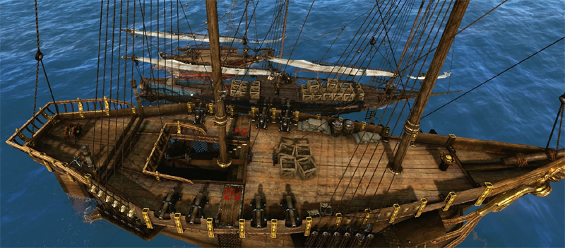 2ae4a  archeage naval tools down ArcheAge: A Guide to Naval Warfare – A Ship's Tools