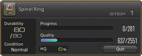50347  ffxiv crafting spinel ring FFXIV: Tips for Getting Started with Crafting