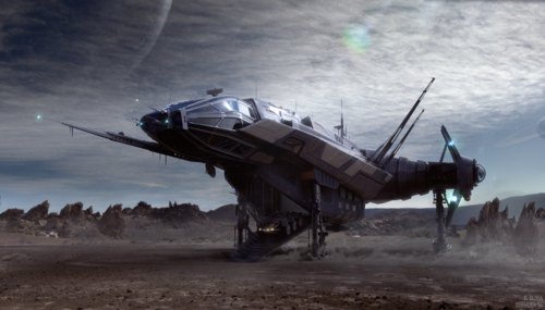 61e68 Star Citizen Carrack Landed Final Gurmukh Into the Unknown: A Carrack & Her Crew