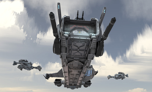 7d98a Star Citizen Beauty Render05 Raid Commander: The Drake Caterpillar