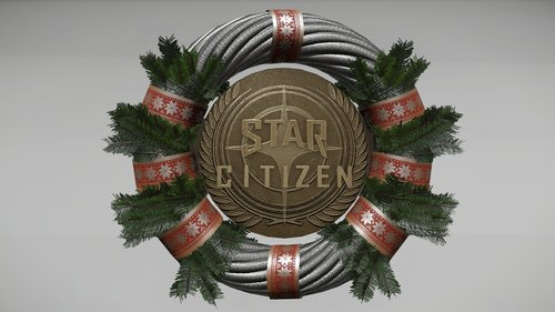 387b2 Star Citizen Holidaywreathflair Gladiator in Hangar with Arena Commander v0.9.2.2 Release!