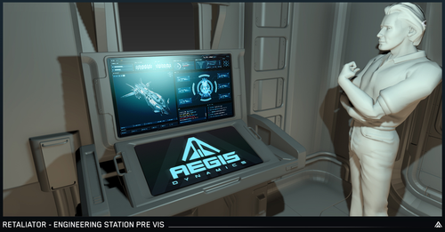 92a14 Star Citizen Engineering Station Pre Vis Letter from the Chairman: Multi Crew Ship Systems