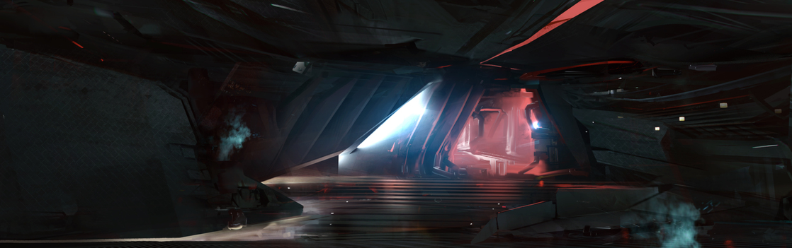 e9f6e Star Citizen Hangar03 staircase Letter from the Chairman: Multi Crew Ship Systems
