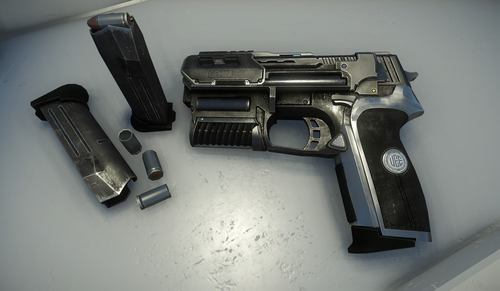 dff77 Star Citizen Gemini LH 86 Combustion Pistol Voyager Direct Update: Buggy Skins and Weapons