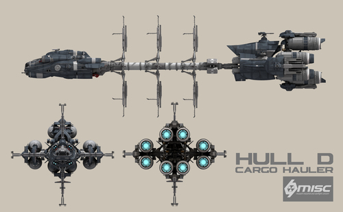 3b9d1 Star Citizen HullD Front Elevation A Hull for every job : The MISC Hull Series