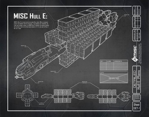 3b9d1 Star Citizen Hull E Blueprint A Hull for every job : The MISC Hull Series