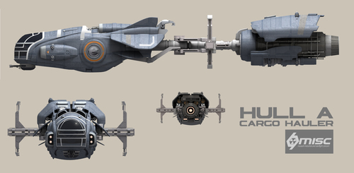 6d8fe Star Citizen HullA Front Elevation Copy A Hull for every job : The MISC Hull Series