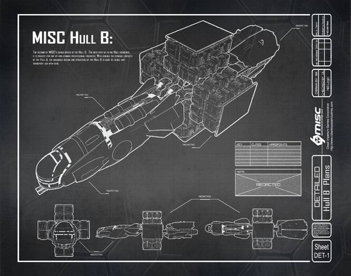 6d8fe Star Citizen Hull B Blueprint A Hull for every job : The MISC Hull Series