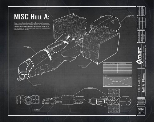 f8c13 Star Citizen Hull A Blueprint A Hull for every job : The MISC Hull Series
