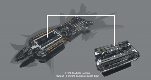 138f9 Star Citizen Retaliator BAYS Retaliator Modules Available