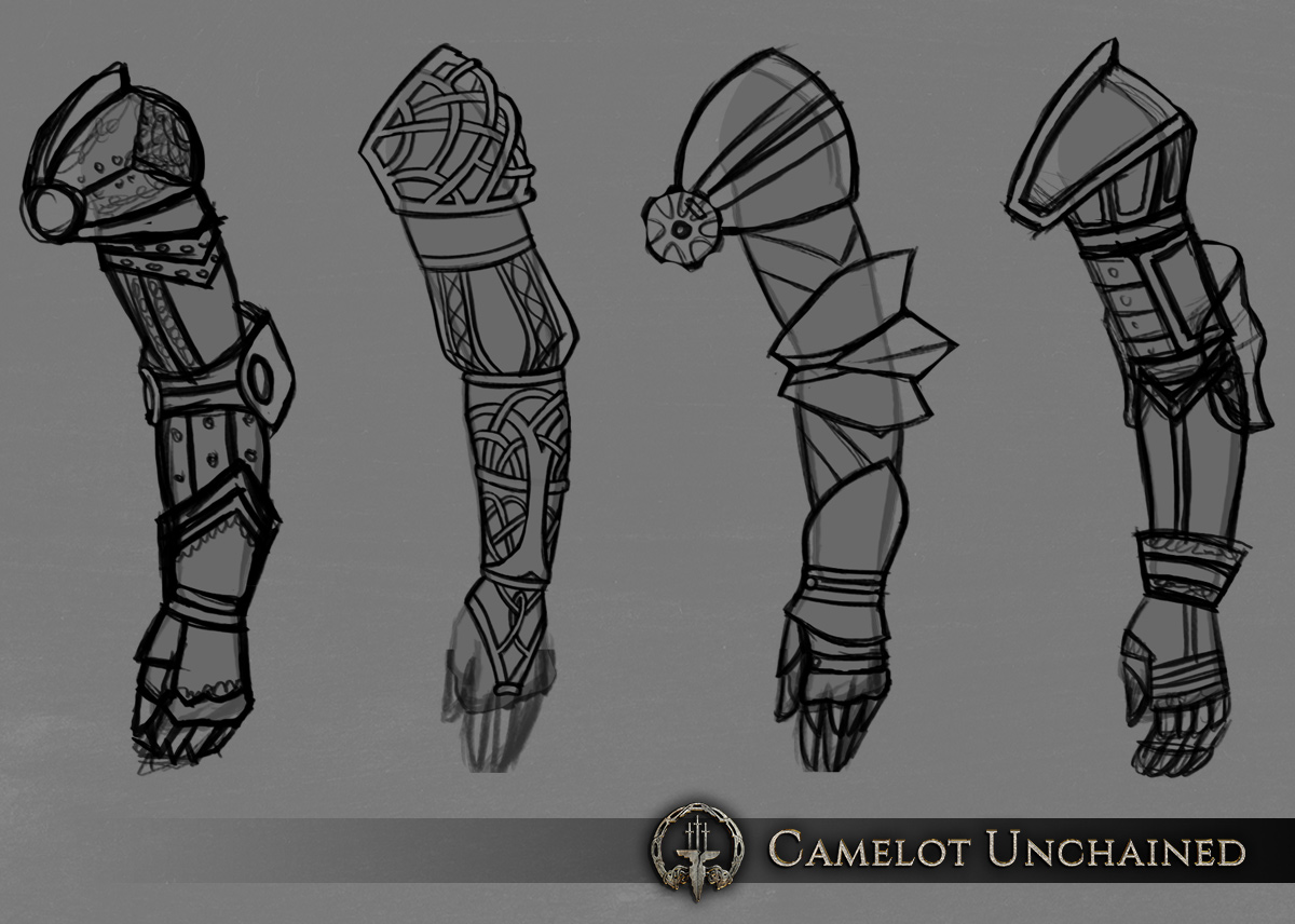 c2c20 Camelot Unchained armor01 arms Afternoon Update – Friday, August 28th, 2015