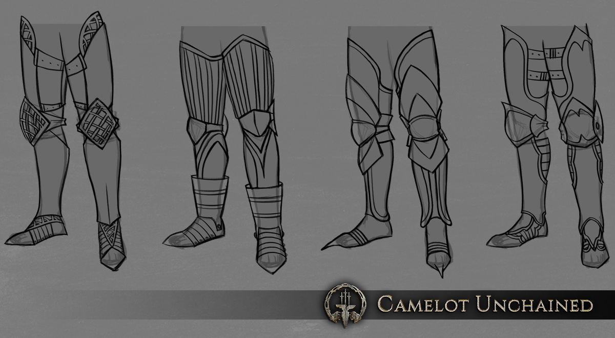 c2c20 Camelot Unchained armor01 legs Afternoon Update – Friday, August 28th, 2015