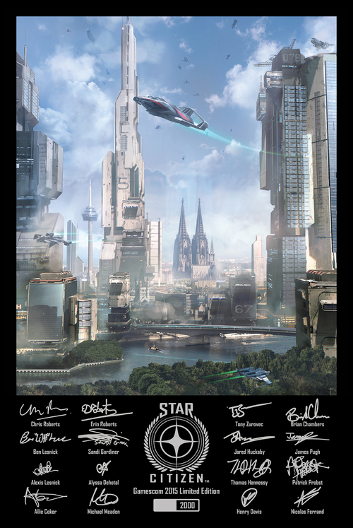 8bff6 Star Citizen Gamescom poster v2a Monthly Studio Report