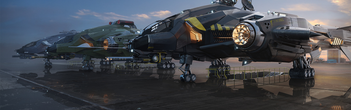 f017c Star Citizen Vanguard variants parked Vanguard Variant Q&A   Part 1