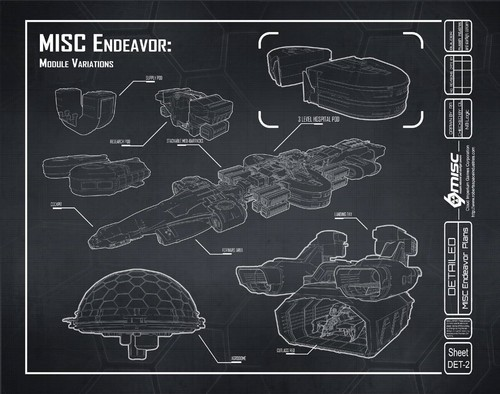 9014b Star Citizen Ryan Blueprints Components 2 MISC Endeavor Q&A   Part 2