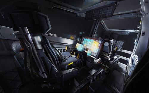 Concept Art: Cutlass Rework Cockpit