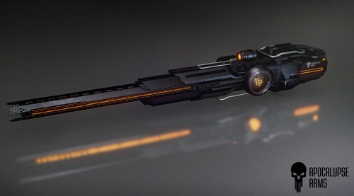 1c996 Star Citizen Strife Mass Driver V2 Portfolio: Apocalypse Arms