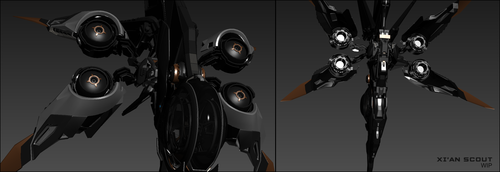 4ef3b Star Citizen Scout wip 03 Meet Gillian Anderson and the XiAn Scout!