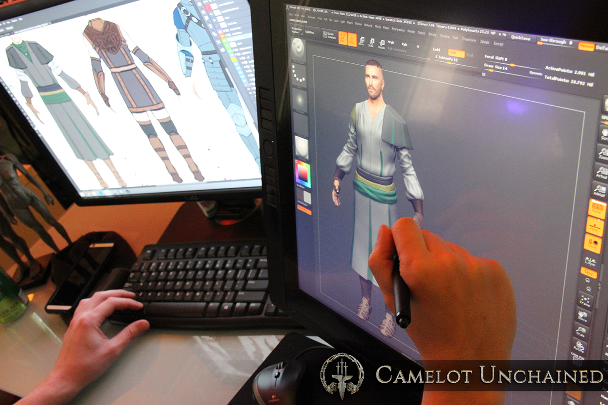 c8140 Camelot Unchained Modeling Armor 01 large Afternoon Update – Friday, January 22nd, 2016 – The Snowniño cometh!