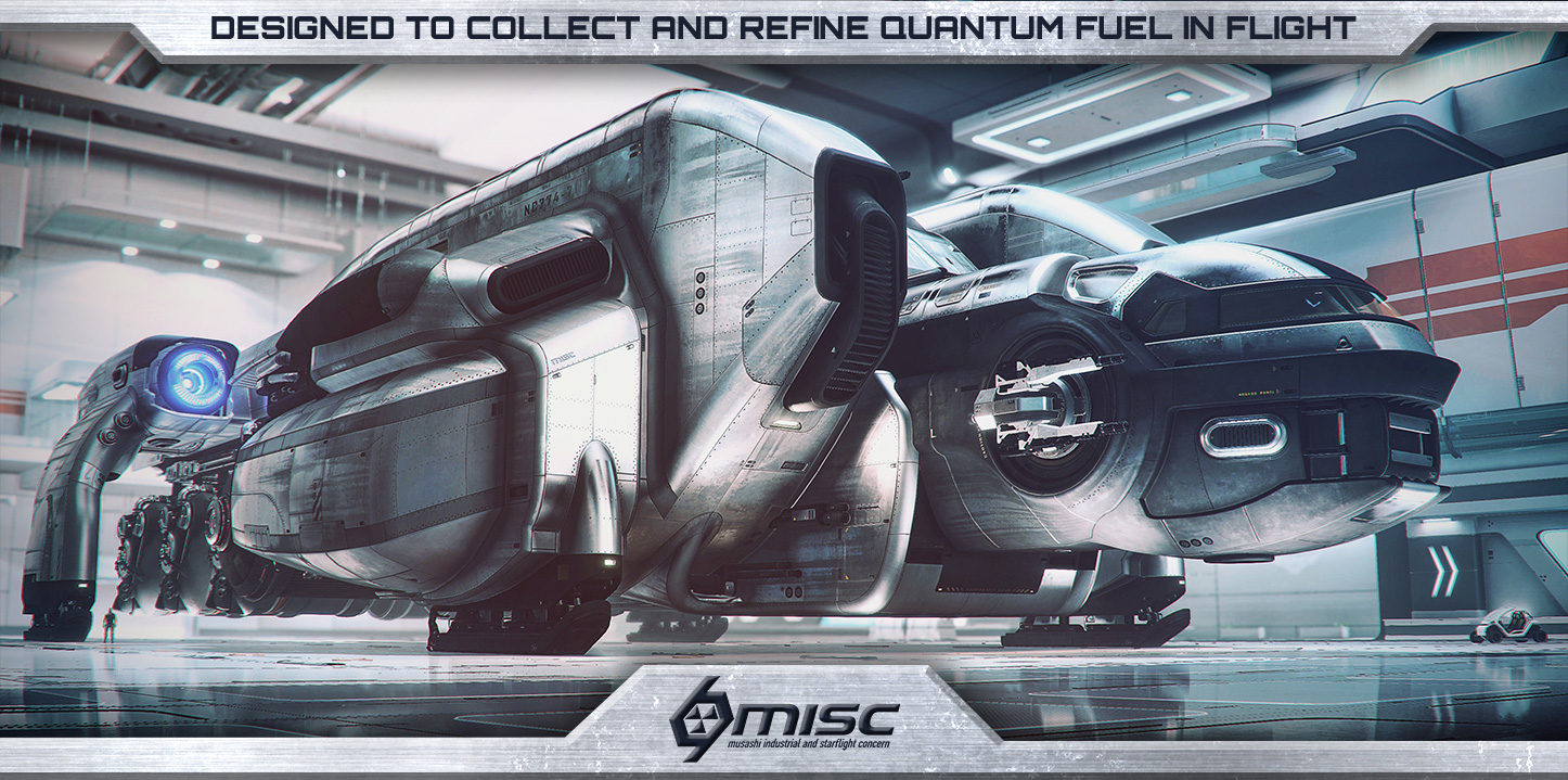 07956 Star Citizen Misc Title Massive Hauling : the MISC Starfarer