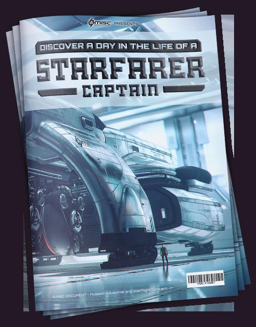70aed Star Citizen Magazines Massive Hauling : the MISC Starfarer