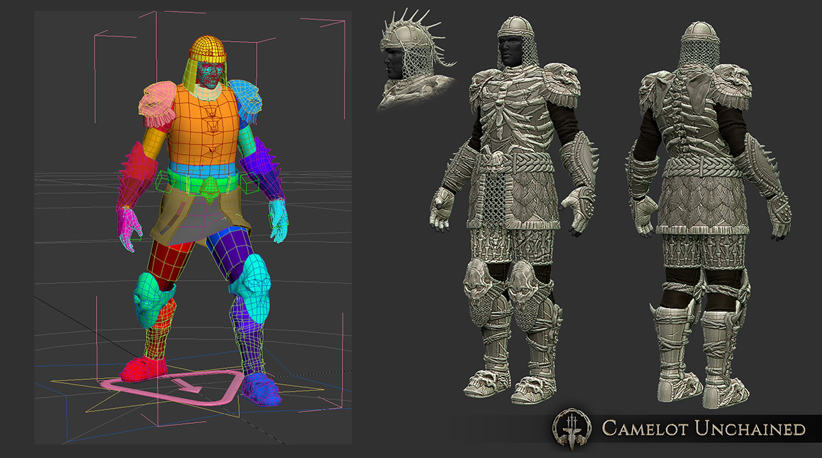 d4a5a Camelot Unchained Viking Medium Armor LowPoly 1200 Evening Update – Friday, March 11th, 2016