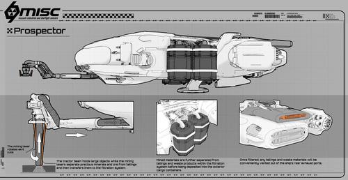 Concept Art - MISC Prospector