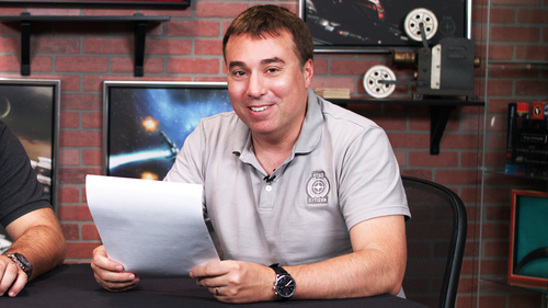 0b9da Star Citizen ChrisShirt2 Polo Shirts Now Available!