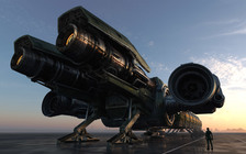 124dc Star Citizen Ext Engines v03 Hatching the Drake Dragonfly
