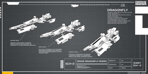 Drake Dragonfly - Concept Art