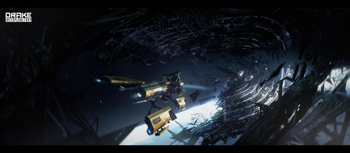687c4 Star Citizen Drake Dragonfly Exploration Wreckage 01B Drake Dragonfly Q&A Part 1
