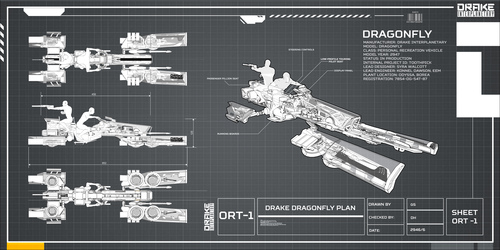 812b5 Star Citizen Drake Dragonfly Schematic 01 Hatching the Drake Dragonfly