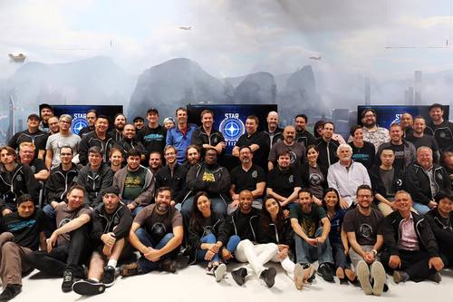 702ab Star Citizen MR Team Photo LA Monthly Studio Report