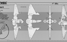2d1de Star Citizen MISC Reliant Blueprint 3 Reliant Kore