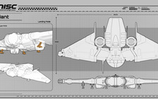 2d1de Star Citizen MISC Reliant Blueprint 4 Reliant Kore