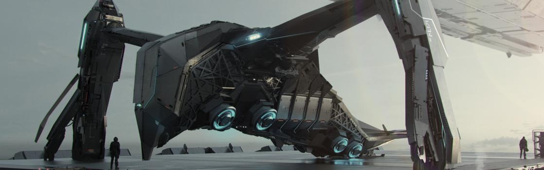 6e50b Star Citizen Esperia Prowler Landing Pad V08 Monthly Studio Report