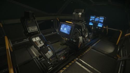 9a0d2 Star Citizen Command Module Bridge DRAKE Caterpillar