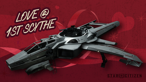 25a5f Star Citizen Hornet Valentines V Day Sale: Love is in the Air (and Space)