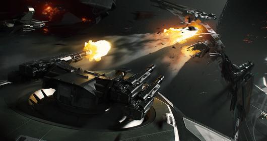e858d Star Citizen Turret Battle Copy The Anvil Hurricane