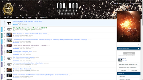 e4b74 Star Citizen Reddit This Week in Star Citizen