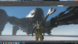 1f5e1 Star Citizen Reclaimer exterior 1 April Monthly Studio Report