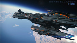 e1f58 Star Citizen Aquila space shot The Shipyard: Careers and Roles