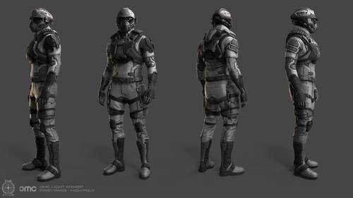 9ab07 Star Citizen OMC LightArmor HighPOly This Week in Star Citizen